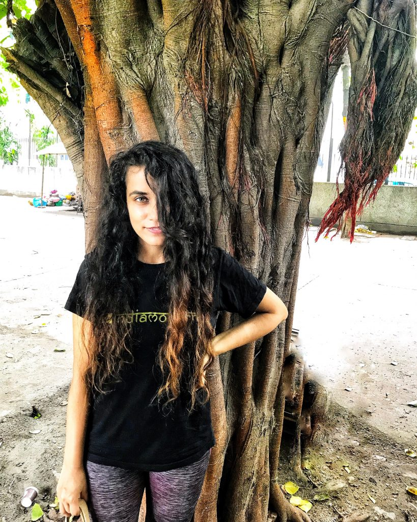 Curly hair in India